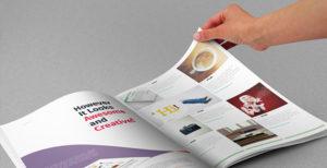 druk folderu reklamowego cena najtaniej